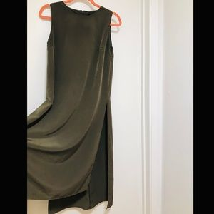Small H&M Olive Dress